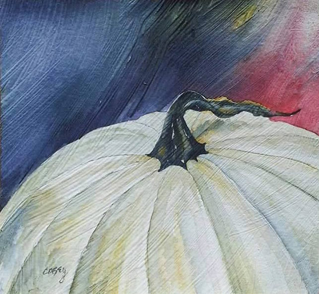 concord art association casey rasmussen white watercolor on gesso