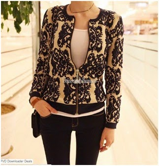 Chegou da China| Cardigan Estampado