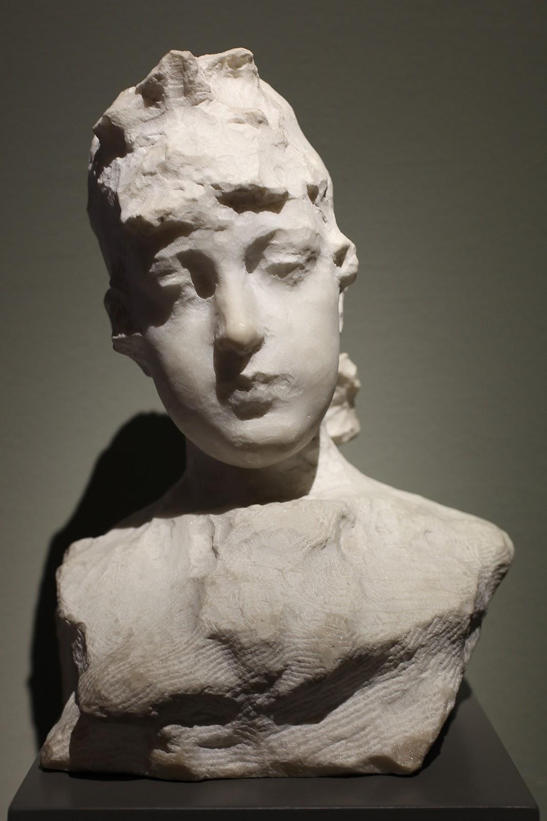 Paolo Troubetzkoy   usto  di  giovane  donna ritratto  di  Emilia  Cairati  Vogt