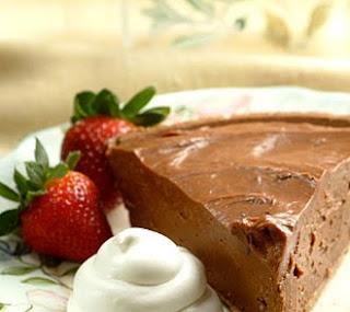 Chilled Chocolate Cheesecake