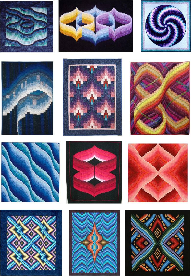 Twisted Bargello Quilt Pattern Free Amazing Design Ideas