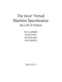 The Java® Virtual Machine Specification Java SE 8 Edition