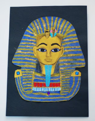 King Tut Pastel Resist