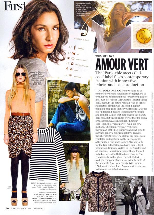 Caitlin Holleran - Amour Vert - Cast Images - Marie Claire