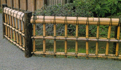 Design-Fence-Bamboo-Yellow-Classical