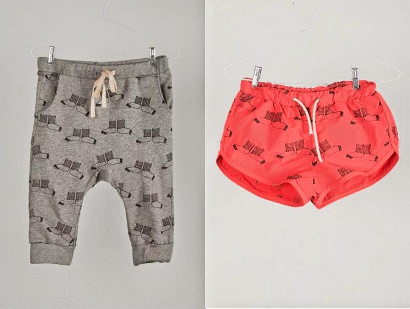 Dos marcas de ropa infantil muy coloristas y gráficas