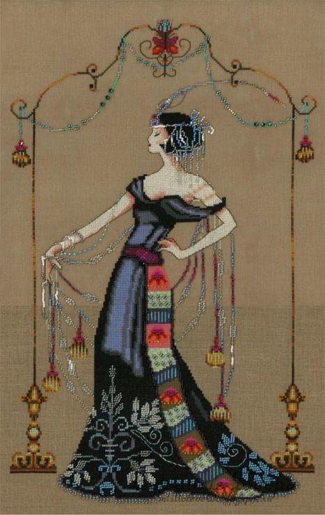 Nora Corbett's haft krzyzykowy