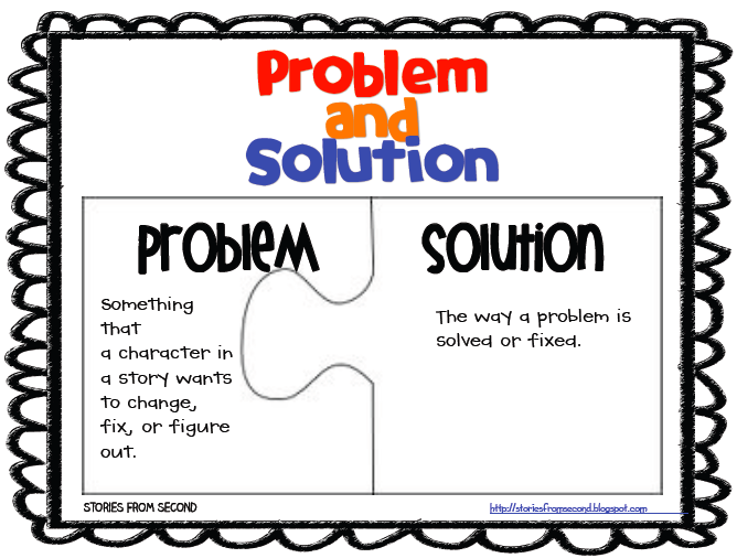 problem and solution Informational texts can be arranged in a variety of ways in this lesson, we'll  discuss how to identify the problem/solution structure we will.