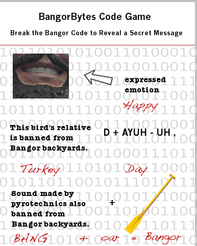 Break_the_Bangor_Code,Happy_Turkey_Day,answer