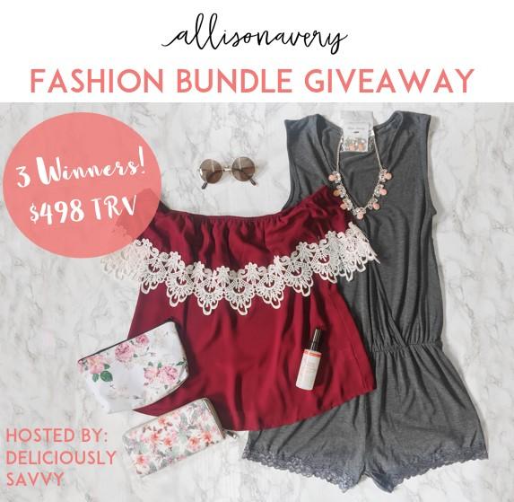 Allison Avery Fashion Bundle Giveaway