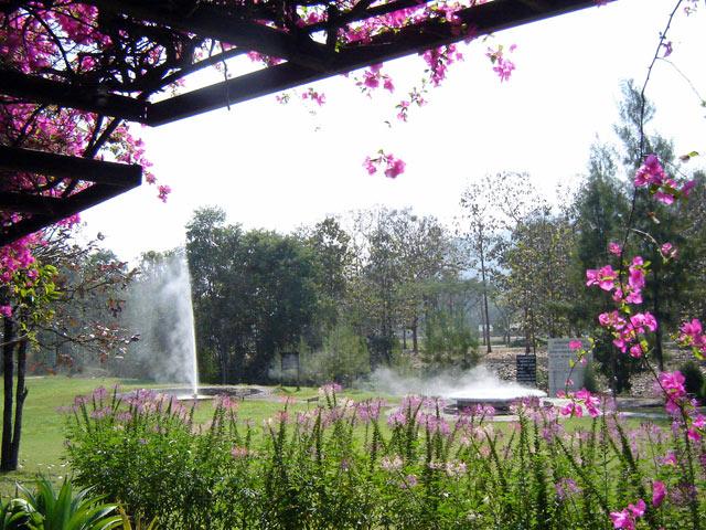 San Kamphaeng Hot Springs, Thailand