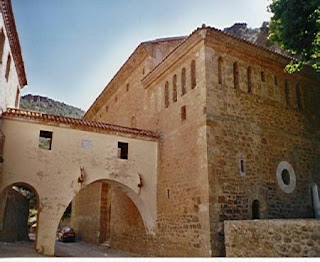 Santuario Virgen de la Fuensanta. Villel. Teruel.