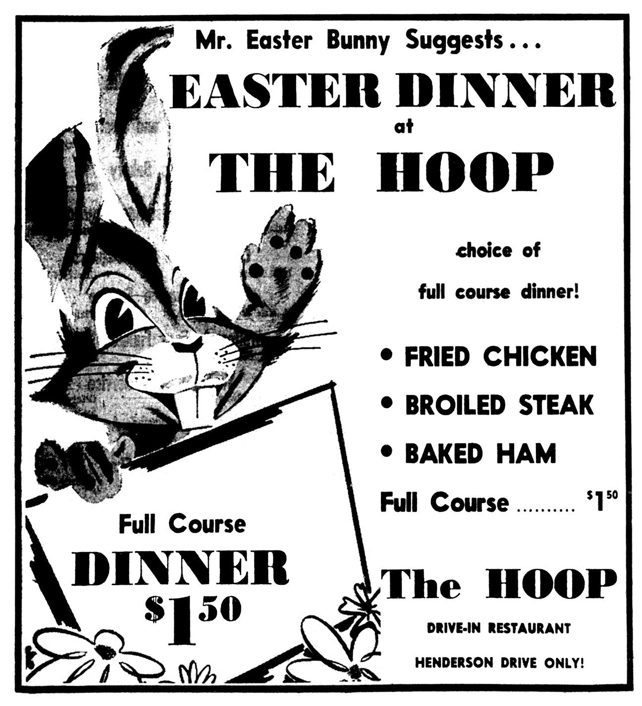 Brady's Lorain County Nostalgia: Easter Parade of Vintage Ads
