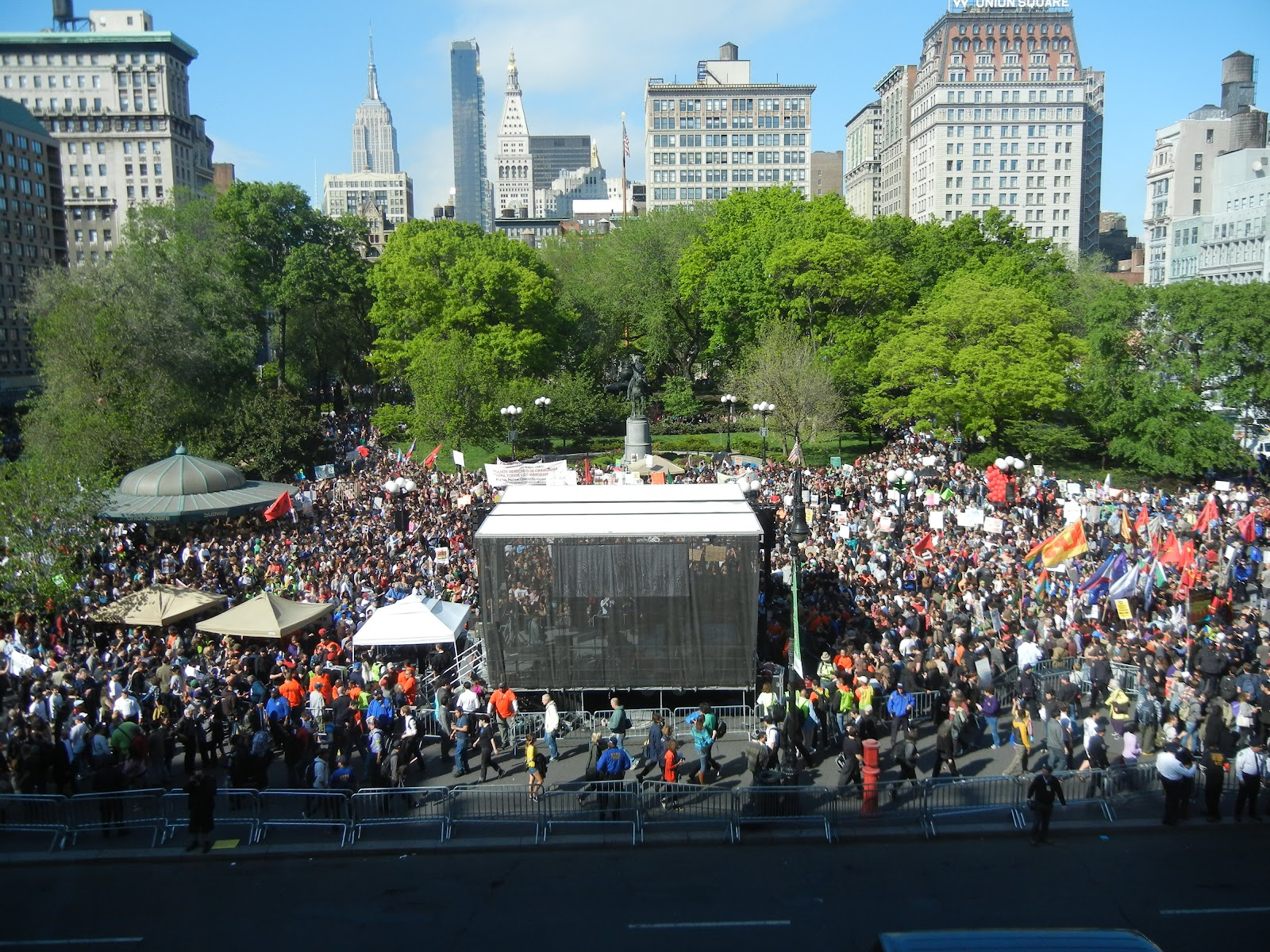 A walk in the park may day celebration in union square park may day celebration in union square park sciox Image collections