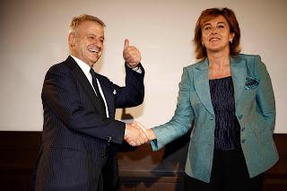 Giorgina Gallo e Corrado Clini