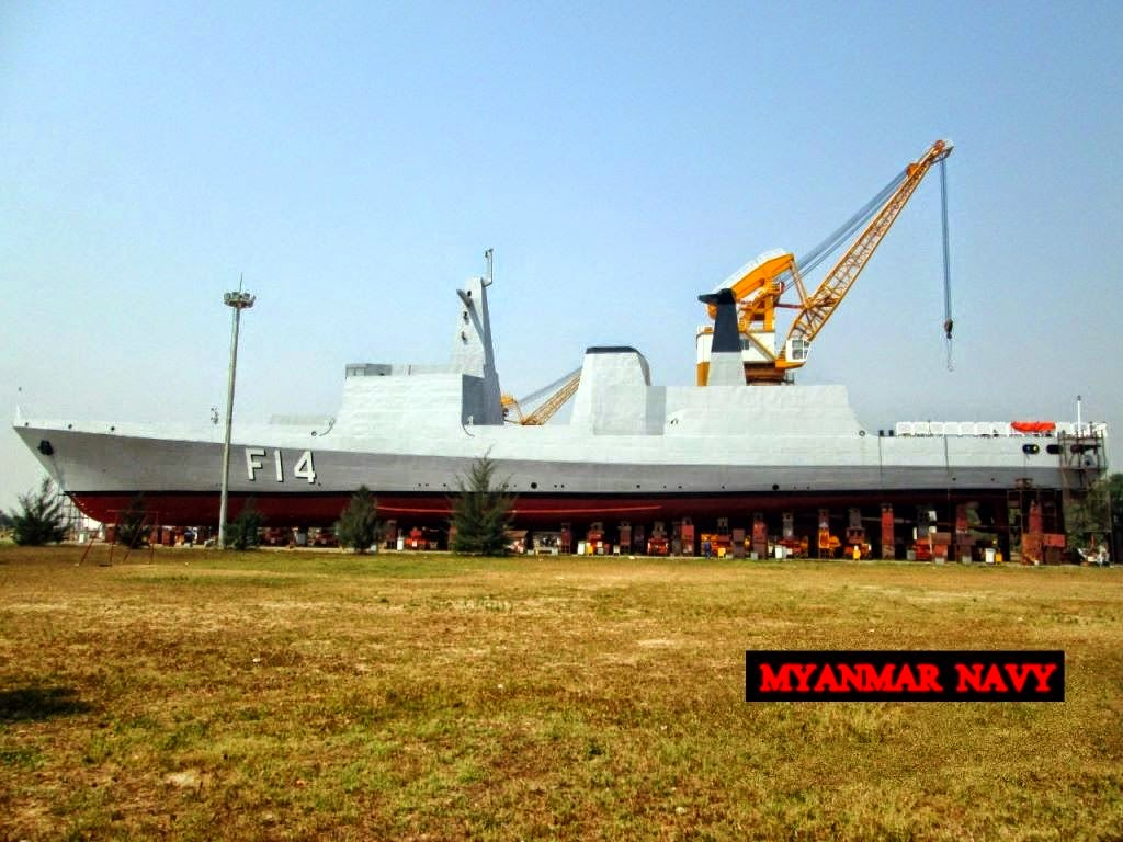 Myanmar has made a new Stealth frigate F14