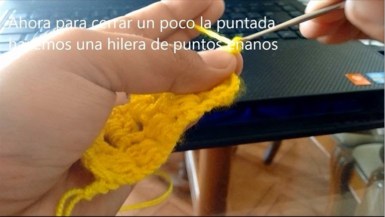 Puntada de Crochet Paso 10