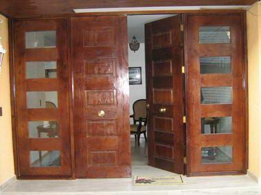 Fotos y dise os de puertas puertas exterior pvc for Disenos de puertas de madera para exterior