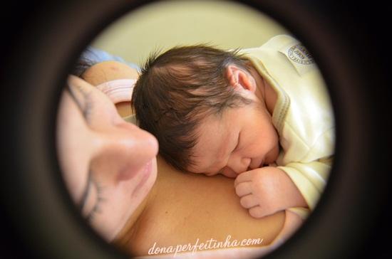 Espiada na maternidade