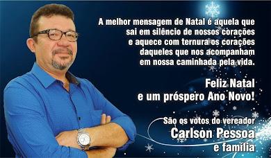 Mensagem do Vereador Carlson Pessoa