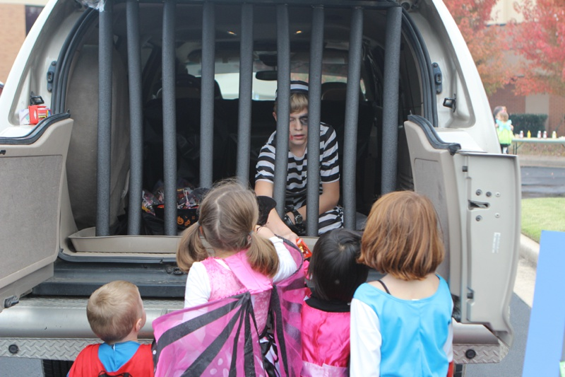 Trunk or Treat Idea Jail
