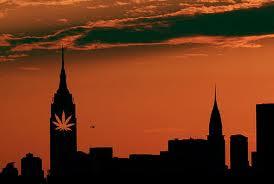 legalização maconha em NY city