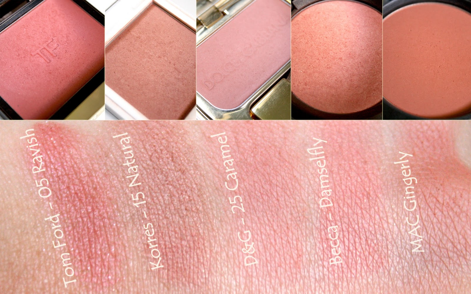 A Cup of Beauty: My Top 10 Blushes