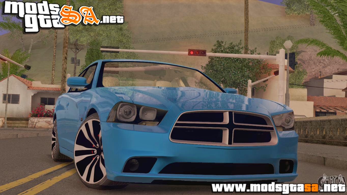 SA - Dodge Charger SRT8 2012 Stock Version