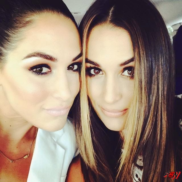 New Closeup Photo Of Brie And Nikki Bella Together.