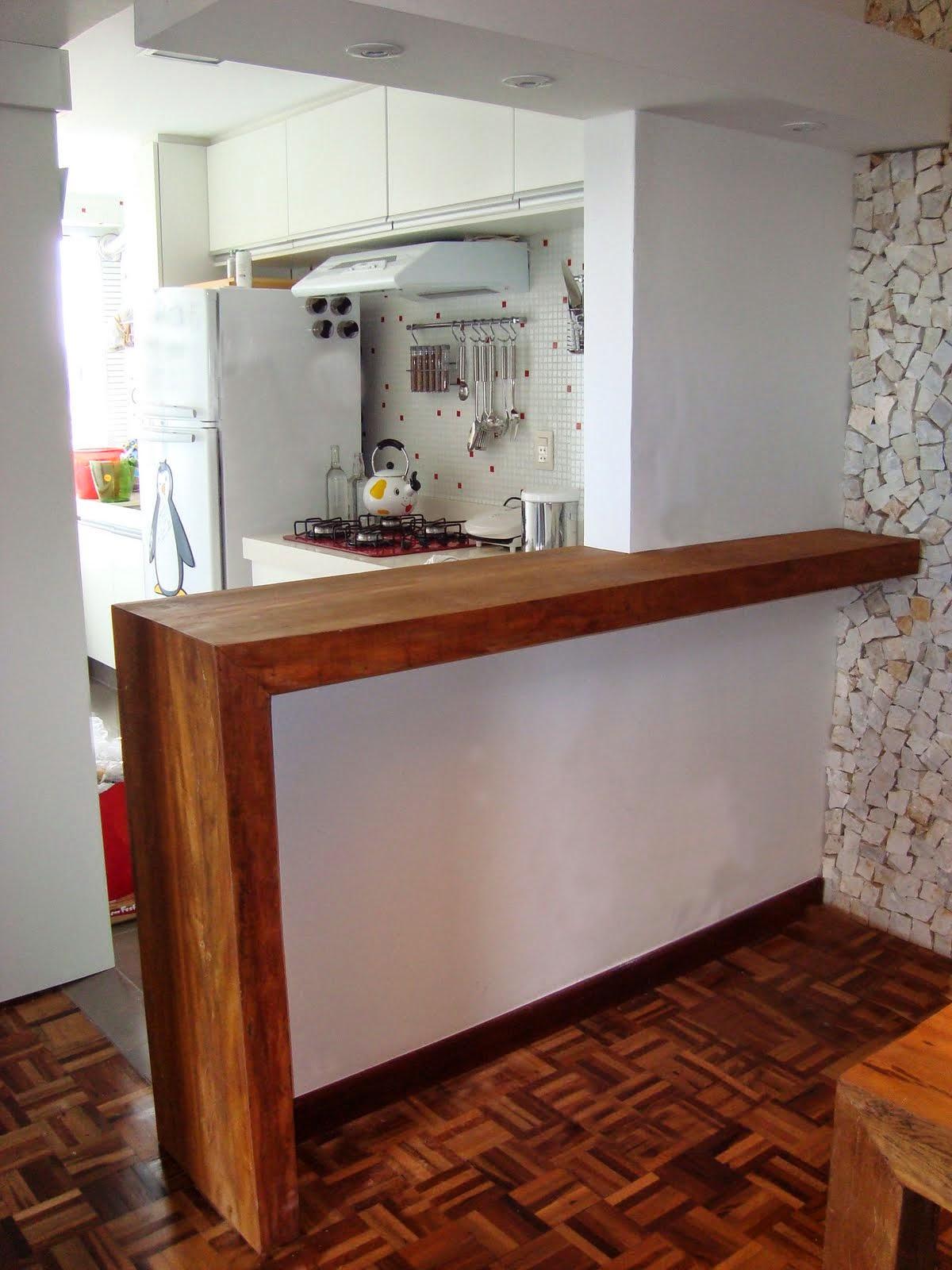 Idéias de Decoração Balcão de Cozinhas X Casas Apartamentos  #B34E13 1200 1600