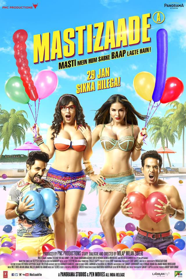 Watch Mastizaade (2016) DVDRip Hindi Full Movie Watch Online Free Download