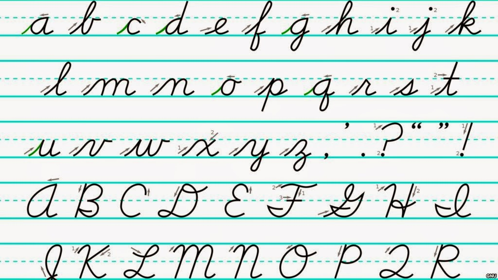 D nealian handwriting hand writing Handwriting calligraphy