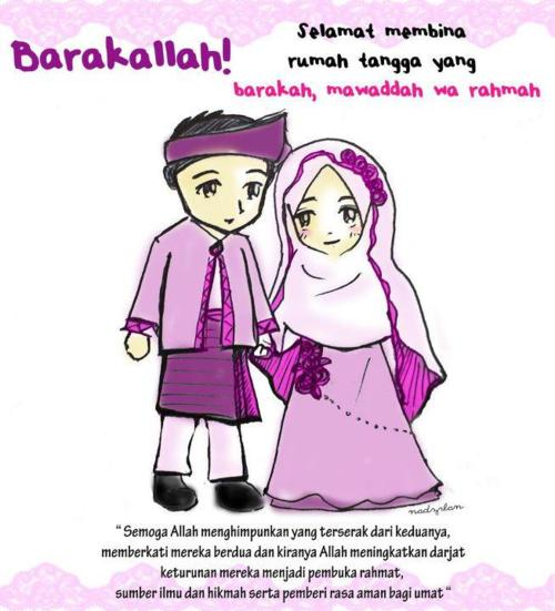 15+ Ucapan Selamat Pernikahan Islami
