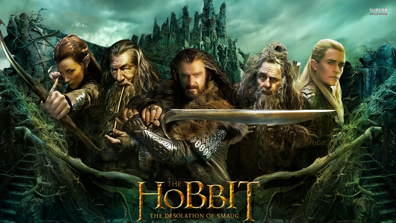 The Hobbit Desolation of Smaug shuud uzeh