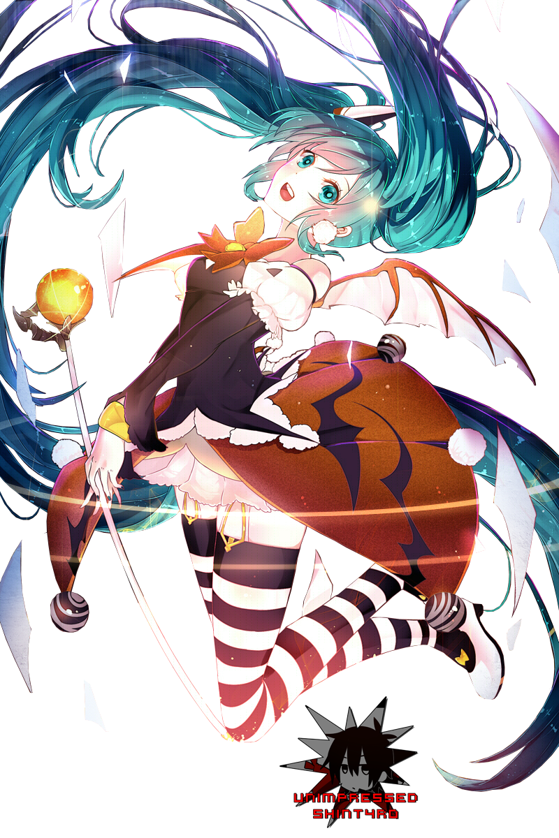 Render miku Hatsune + Halloween