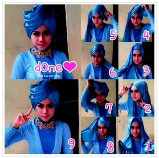 Inspirasi Tutorial Hijab Yang Buat Penampilan Makin Fashionable