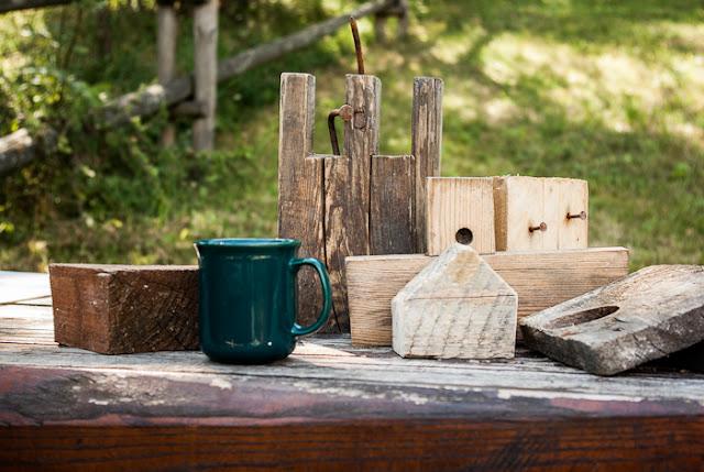 pomysł na odpadki z drewna