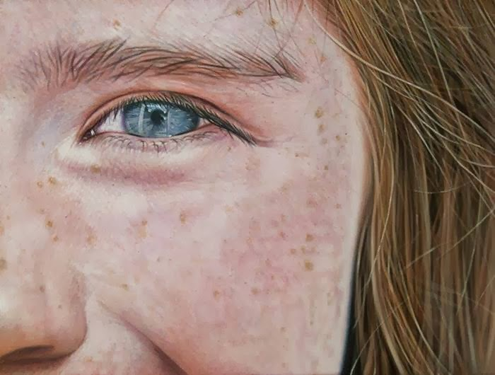 Photorealistic Paintings Show the World Through Sunglass