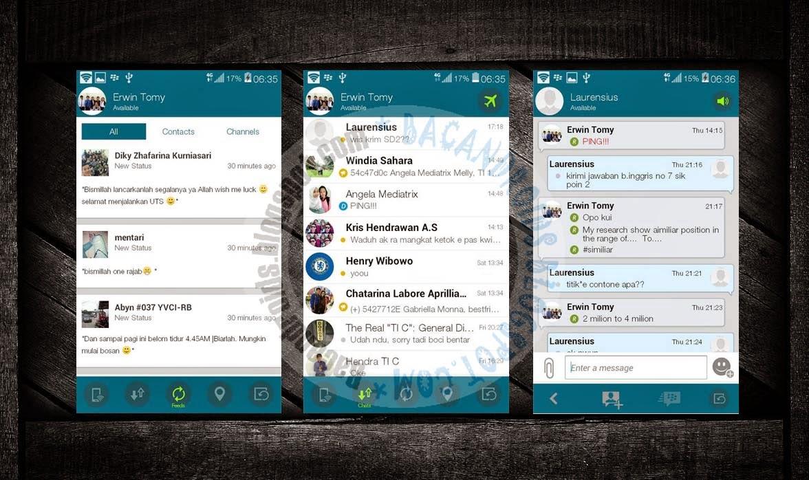 download BBM Mod Tema SystemUI Zenfone Versi 2.7.0.23 Terbaru