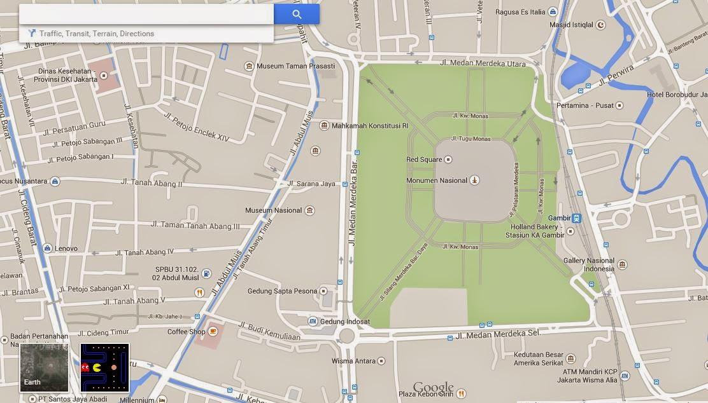 maps.google.com (Monas Jakarta)