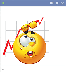 Graph chart emoticon