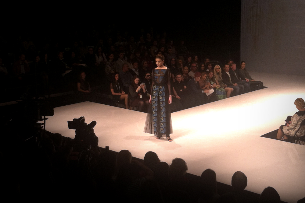 Первый раз не неделе моды SPBFW 16 Kate&Stuff Fabric Fancy