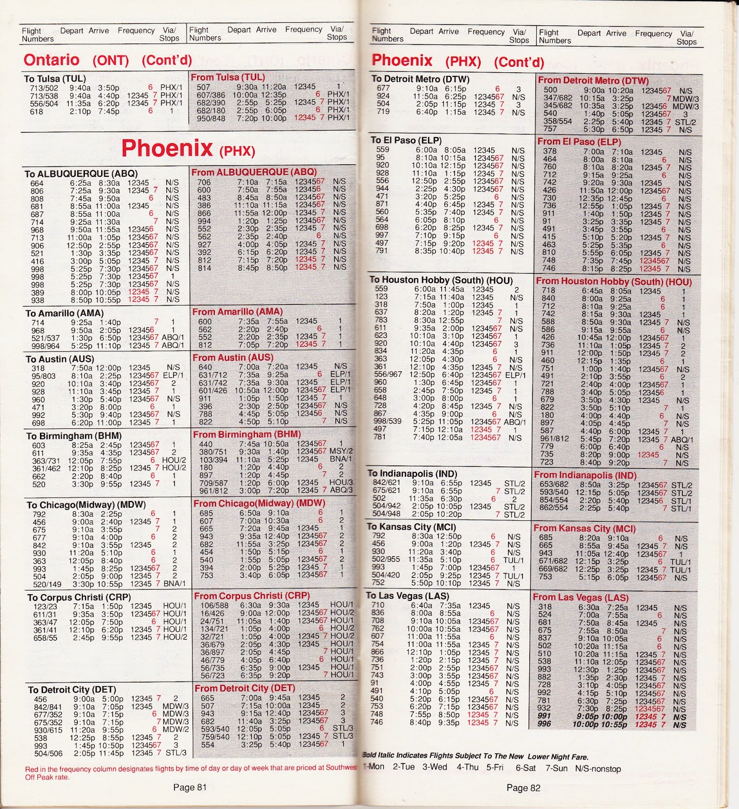 Airline Timetables: Southwest Airlines - April, 1990 on allegiant air, los angeles international airport, alaska airlines, frontier airlines, denver international airport, frontier airlines schedule, us airways, alaska airlines schedule, porter airlines schedule, people express airlines schedule, airtran airways, spirit airlines, grand canyon airlines schedule, compass airlines schedule, virgin america, southwest flight status, empire airlines schedule, air canada, allegiant airlines schedule, biman bangladesh airlines schedule, fedex schedule, sky king airlines schedule, delta air lines, jetblue airways, horizon airlines schedule, united airlines schedule, spirit airlines schedule, continental airlines, air koryo schedule, great lakes airlines schedule, republic services schedule, british airways, transportation schedule, american airlines, united airlines, jetblue schedule,