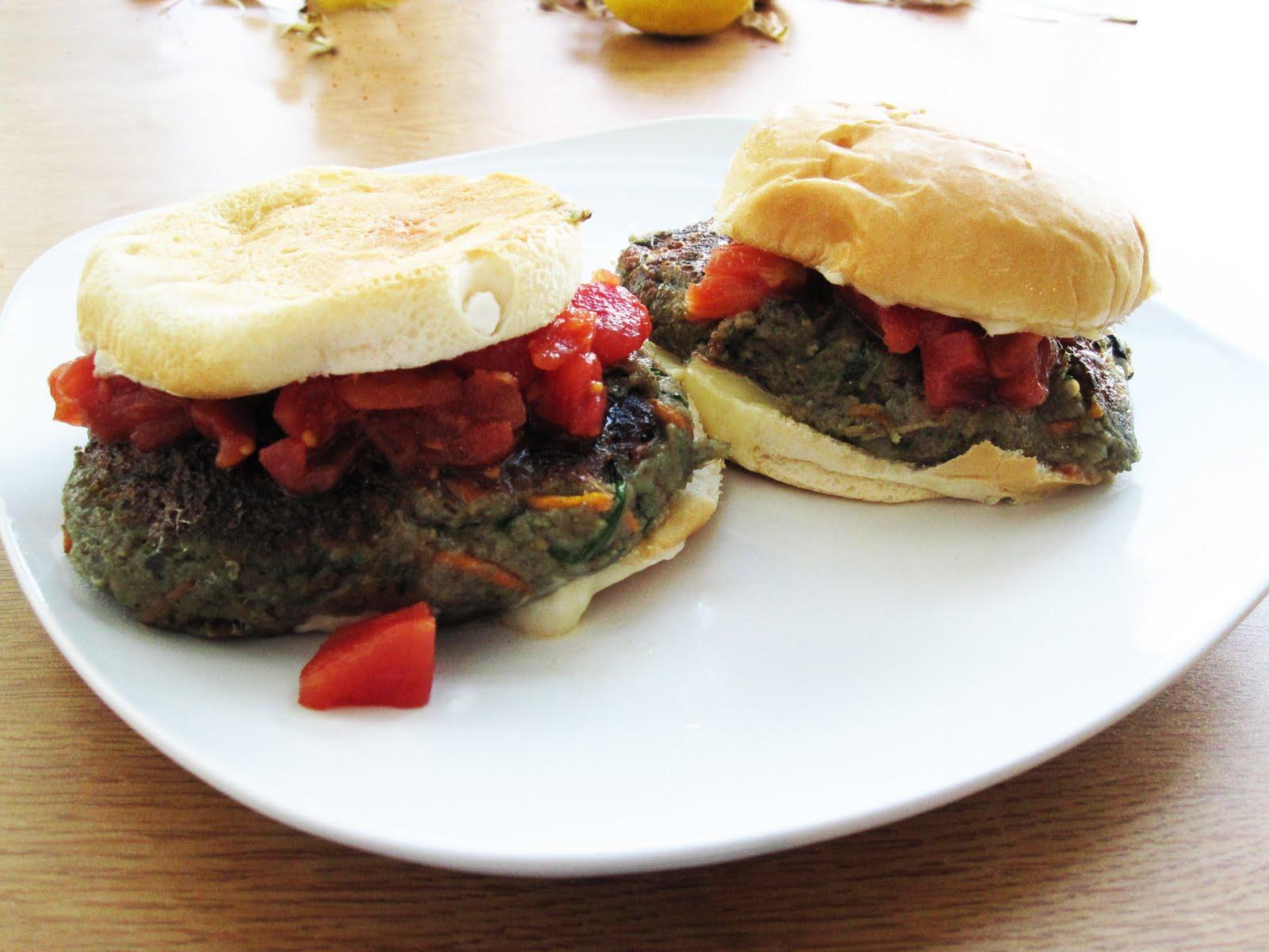 Penn Appétit: Eggplant Burgers