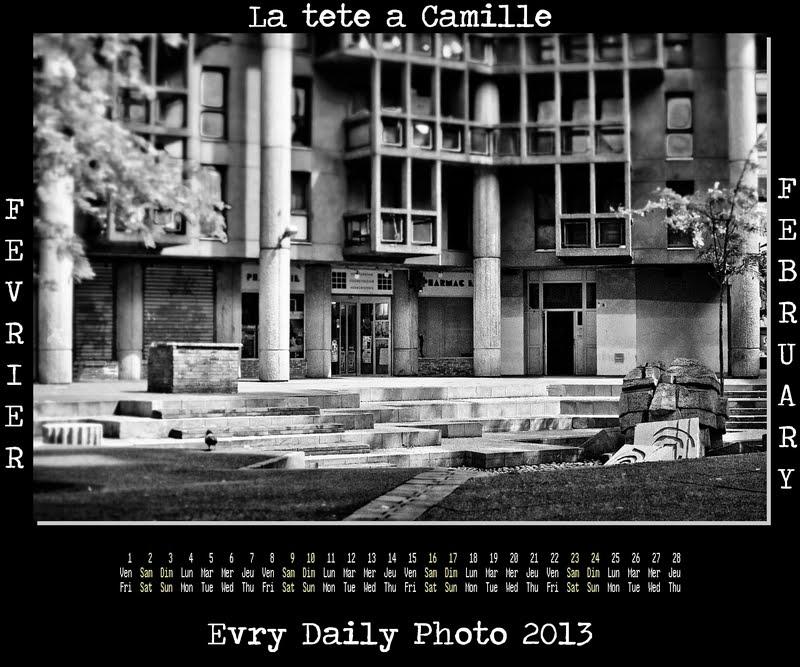Evry Daily Photo Calendrier 2013  Fevrier 2013