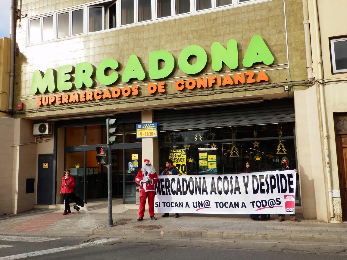 Cgt valencia fotos i v deos cgt es concentra en for Mercadona oficinas centrales