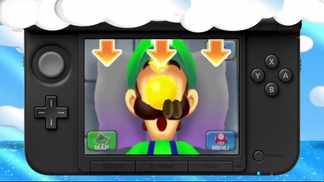 Mario and Luigi Dream Team Bros Screenshots