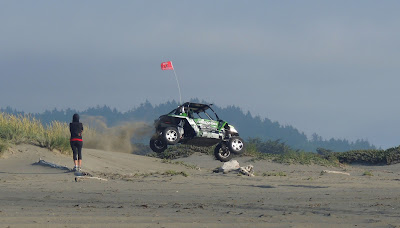 Dune Jumping OHV in the Samoa Dunes Rev Area