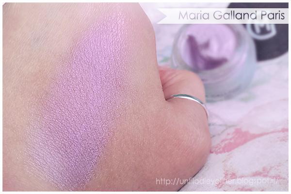 Maria Galland - Le Maquillage Rêves d'Été Ombre Creme 181 - Doux Mauve Swatch