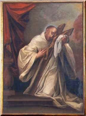 Bernardo de Clairnaux, el abad que apoyó a la Orden Templaria en el proceso de oficialización.